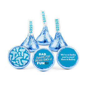 Personalized Father's Day Dad's a FUNgi Hershey's Kisses (50 pack)