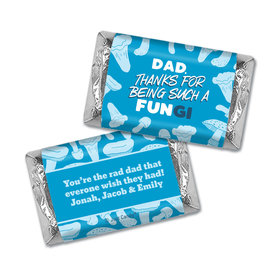 Personalized Father's Day Dad's a FUNgi Hershey's Miniatures