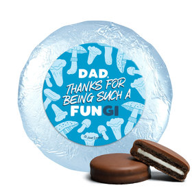 Dad's a FUNgi Father's Day Milk Chocolate Covered Oreos (24 Pack)
