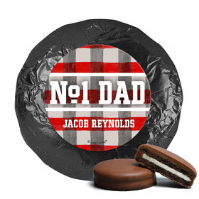 Personalized Football Dad Father's Day Milk Chocolate Covered Oreos (24 Pack)