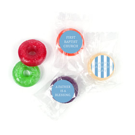 Personalized Father's Day LifeSavers 5 Flavor Hard Candy Pillar of Strength