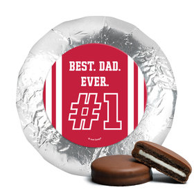 Personalized Father's Day Chocolate Covered Oreos #1 Dad (24 Pack)