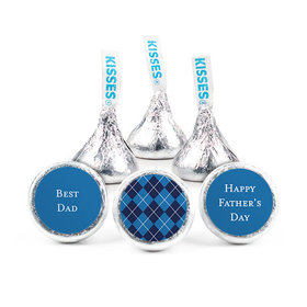 Personalized Father's Day Pattern Hershey's Kisses (50 pack)