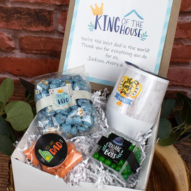 King of the House Father's Day Gift Box