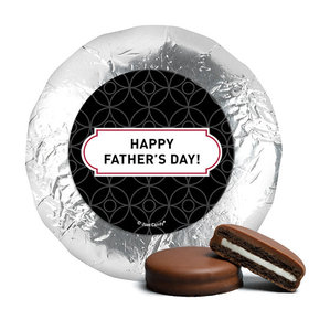 Father's Day Trellis Pattern Milk Chocolate Covered Oreos (24 Pack)