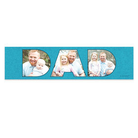 Personalized Photos Father's Day 5 Ft. Banner