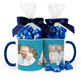 Personalized Father's Day Photos 11oz Mug with Hershey's Kisses