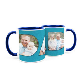 Personalized Father's Day Photos 15oz Mug