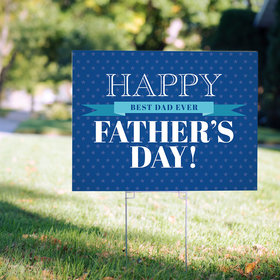 Father's Day Yard Sign