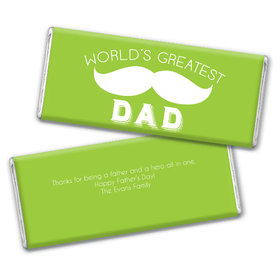 Personalized Father's Day Greatest Dad Chocolate Bar