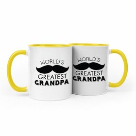 Father's Day Greatest Grandpa 11oz Mug Empty