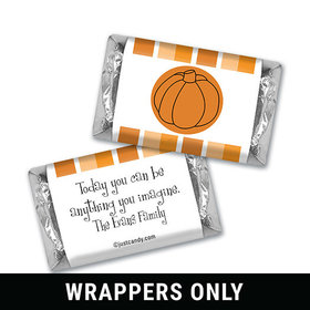 Perfect Pumpkin Halloween Personalized Miniature Wrappers
