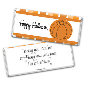 Perfect Pumpkin Personalized Candy Bar - Wrapper Only