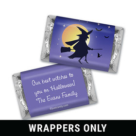 The Witching Hour Halloween Personalized Miniature Wrappers