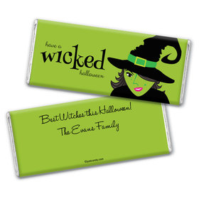 A Wicked Witch Personalized Candy Bar - Wrapper Only