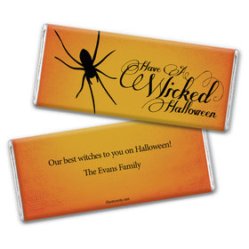 Witches Brew Personalized Candy Bar - Wrapper Only