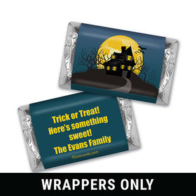 One Scary Night Halloween Personalized Miniature Wrappers