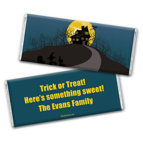 One Scary Night Personalized Candy Bar - Wrapper Only
