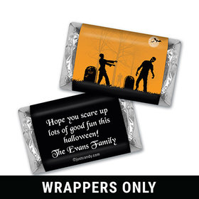 Back from the Grave Halloween Personalized Miniature Wrappers