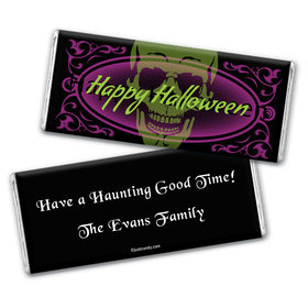 Evil Spectre Personalized Candy Bar - Wrapper Only