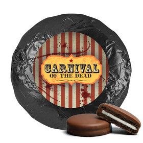 Personalized Halloween Carnival of the Dead Chocolate Covered Oreo Cookies