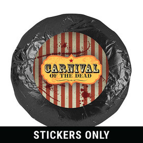 Halloween Personalized Stickers Carnival of the Dead (48 Stickers)