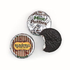 Halloween Personalized Pearson's Mint Patties- Carnival of the Dead