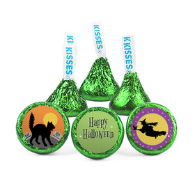 Personalized Hershey™s Kisses - Halloween Witch (50 Pack)