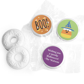 Personalized Life Savers Mints - Halloween Candy Corn