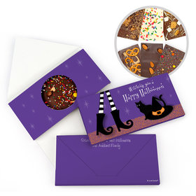 Personalized Halloween The Witch is In Bar Gourmet Infused Belgian Chocolate Bars (3.5oz)