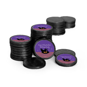 Personalized Halloween The Witch Is In Chocolate Coins (84 Pack)