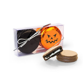 Halloween Pumpkin Chocolate Covered Oreo Cookies 2PK