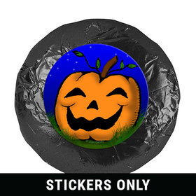 """Personalized 1.25"""" Stickers - Halloween In the Patch (48 Stickers)"""