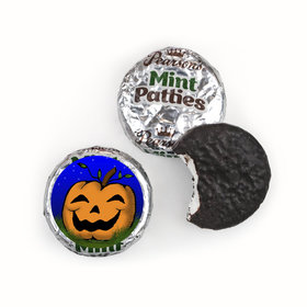 Personalized Pearson's Mint Patties - Halloween In the Patch