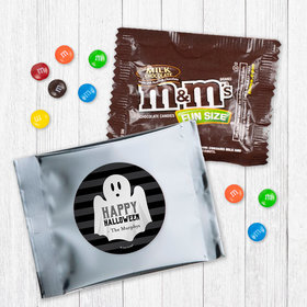 Personalized Halloween Ghouling Ghost - Milk Chocolate M&Ms