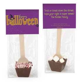 Personalized Halloween Spirit Hot Chocolate Spoon
