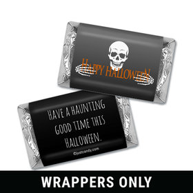 Personalized Halloween Fright Night Hershey's Miniatures Wrappers