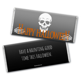 Personalized Halloween Fright Night Chocolate Bar & Wrapper