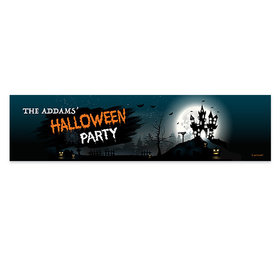Personalized Halloween Spooky Invite Banner