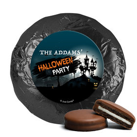 Personalized Halloween Spooky Invite Chocolate Covered Oreos