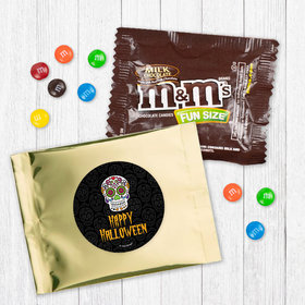 Personalized Halloween Day of the Dead - Milk Chocolate M&Ms