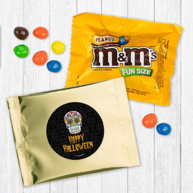 Personalized Halloween Day of the Dead - Peanut M&Ms