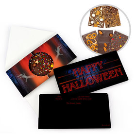 Personalized A Stranger Halloween Bar Gourmet Infused Belgian Chocolate Bars (3.5oz)