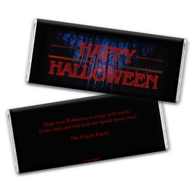 Personalized A Stranger Halloween Chocolate Bar & Wrapper