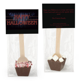 Personalized Halloween Stranger Things Hot Chocolate Spoon