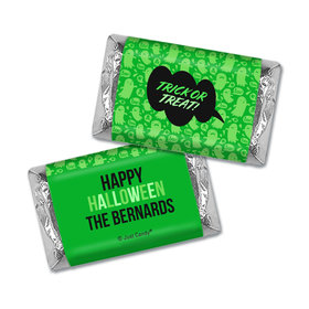 Personalized Halloween Spooky Phrases Hershey's Miniatures Wrappers