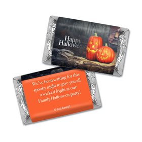 Personalized Halloween Ghostly Greetings Hershey's Miniatures Wrappers