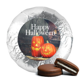 Halloween Ghostly Greetings Chocolate Covered Oreos