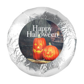 """Halloween Ghostly Greetings 1.25"""" Stickers (48 Stickers)"""