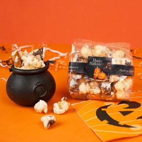Personalized Halloween Ghostly GreetingsTrendy Trash Gourmet Popcorn 3.5 oz Bags